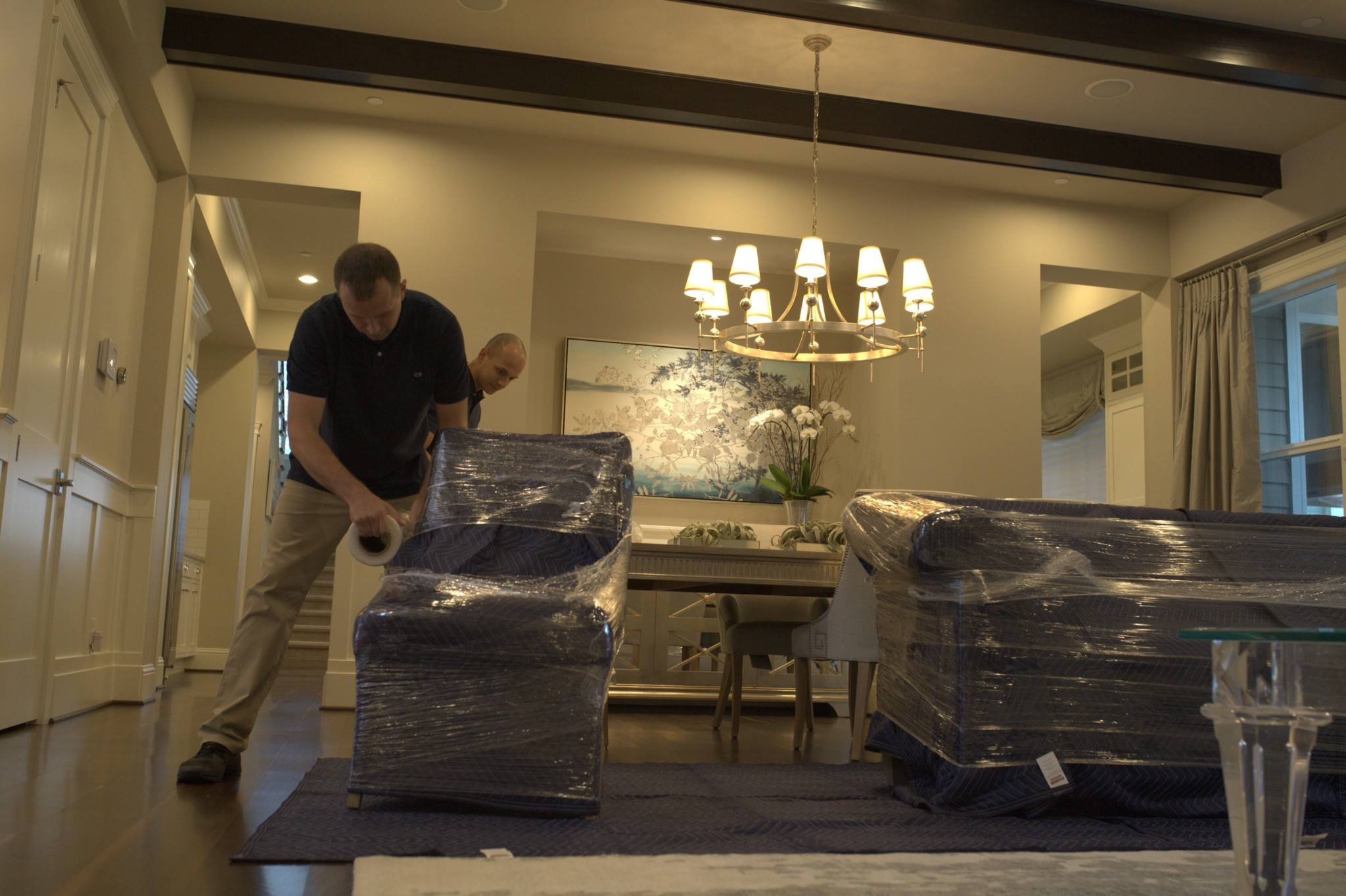 Movers for furniture move